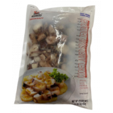 COOKED JUMBO SQUID TENTACLES (SLICED OCTOPUS STYLE)